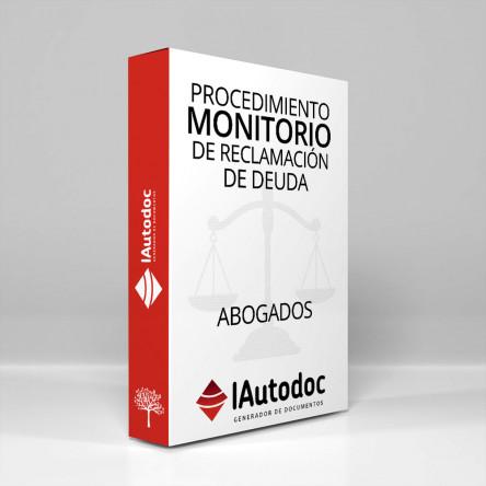 1001 Procedimiento Monitorio de reclamación de deuda 1.0